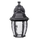 LED Black Outdoor Wall Lantern - Euri Lighting