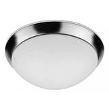 "LED 19W 13"" Round Ceiling Light - Chrome - Euri Lighting"