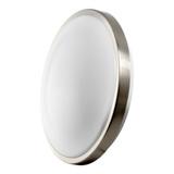 """LED 19W 12"""" Round Ceiling Light - Brushed Nickel - Euri"""