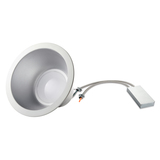 LED 8 Inch Commercial Recessed Light - 25 Watt - IC Rated - Dimmable - 2565 Lumens - Morris