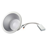 LED 8 Inch Commercial Recessed Light - 45 Watt - IC Rated - Dimmable - 4354 Lumens - Morris