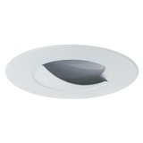 4 Inch Lourered Trim - Matte White - Maximus Lighting