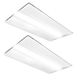 2x4 Slim Design LED Troffer - 42 Watt - Dimmable - - 5460 Lumens