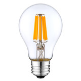 Filament Style LED - A19 - 6 Watt - 40 Watt Equivalent - 600 Lumens