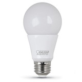 LED A19 - 9.5 Watt - 60W Equiv- Omni Directional - Dimmable - 800 Lumens - Feit Electric