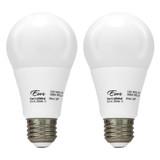 LED A19 - 2-Pack - 9.5W - 60W Equiv - 800 Lumens - Euri
