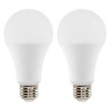A21 - 2-Pack - LED Bulbs - 14 Watt - 100W Equiv - 1521 Lumens - Euri