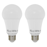 A21 - Omni LED Bulb - 2 Pack -17 Watt - 100W Equiv - CEC Compliant - Dimmable - 1600 Lumens