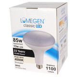 LED BR40 - 12 Watt - 85W Equiv. - Dimmable - 1100 Lumens - LumeGen