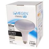 LED BR40 - 12 Watt - 85W Equiv. - Dimmable - 1100 Lumens - LumeGen