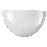 Quarter Sphere One-Light Wall Sconce - White - Progress Lighting