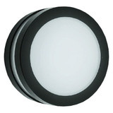 "LED 11"" Bulkhead Lighting - 17W - Full Lens - Black Housing - Morris -"