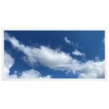 2ft x 4ft LED Flat Panel - 49W - Cloud Design - A1