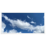 2ft x 4ft LED Flat Panel - 49W - Cloud Design - A1
