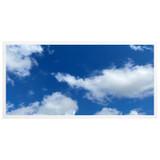 2ft x 4ft LED Flat Panel - 49W - Cloud Design - A2