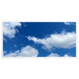 2ft x 4ft LED Flat Panel - 49W - Cloud Design - A2