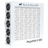 LED PhytoMAX-2 600 Full Spectrum Indoor Grow Light - 630W - Black Dog LED