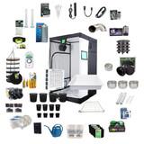 4ft x 4ft Complete Grow Kit - PhytoMAX-2 600 - 630W - Black Dog LED
