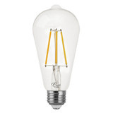 LED ST19 Filament - 7 Watt - Dimmable - 75W Equiv - 800 Lumens - Euri Lighting