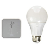LIGHTIFY® Starter Kit - Tunable White Smart Connected LED A19 Bulb and Wireless Gateway - Sylvania