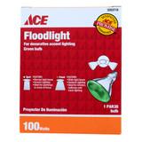 PAR 38 - 100W - Green Decorative Accent Light