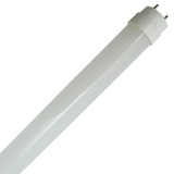 Case of 20 - T8 LED 4ft. Glass Tube - 15 Watt - 2050 Lumens - Type B Direct Wire - Single-Ended Power - GE
