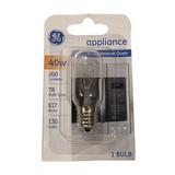 40W- E17 Base - Mircrowave Appliance Bulb