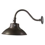 LED Barn Light Bronze Finish - 42 Watt - Wall Mount - 4000 Lumens - LumeGen