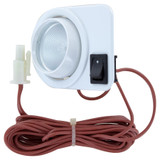Mini Downlight Eyeball Surface Mount - White