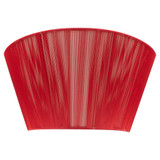 Lilith 3 Light Wall Lamp Sconce - Red