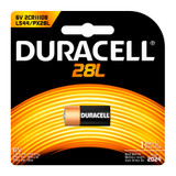 Duracell 28L Lithium Battery - 6V - 1/Pack