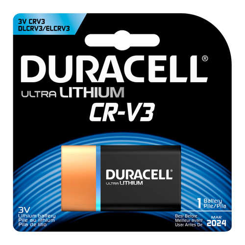 Duracell CR-V3 Lithium Battery - 3V - 1/Pack