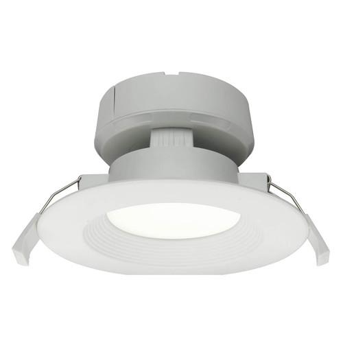 "LED 4"" J-Box Recessed Light - 8W - 651 Lumens - Dimmable - MaxLite 3000K Soft White"