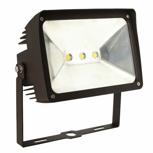 LED Floodlight - 50 Watt - Yoke Backet Mount - 6103 Lumens - Morris