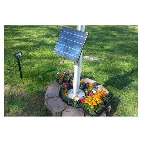 High End Flagpole Solar Light