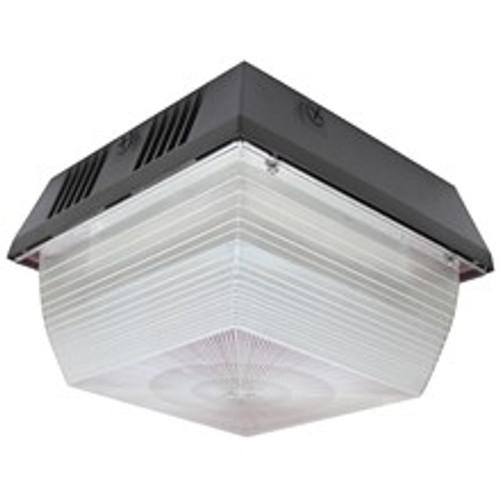 LED Square Vandal-Resistant Canopy - 80 Watts - 9413 Lumens - Morris