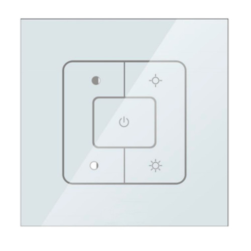 Bluetooth Remote Control Panel - 5 Keys -  for Color Tunable Flat Panels