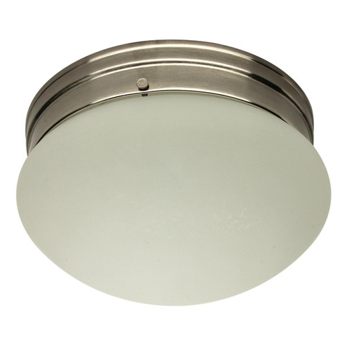 LED 9 inch Etched Glass Flush Mount - 12 Watt - 40W Equiv - Dimmable - 695 Lumens - MaxLite