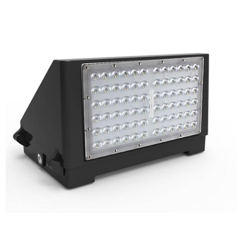 LED Half Cut-Off Wall Pack - 120 Watt - 14,400 Lumens
