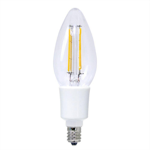 LED B11 Filament - 4.5 Watt - Dimmable - 40W Equiv - 420 Lumens - Euri