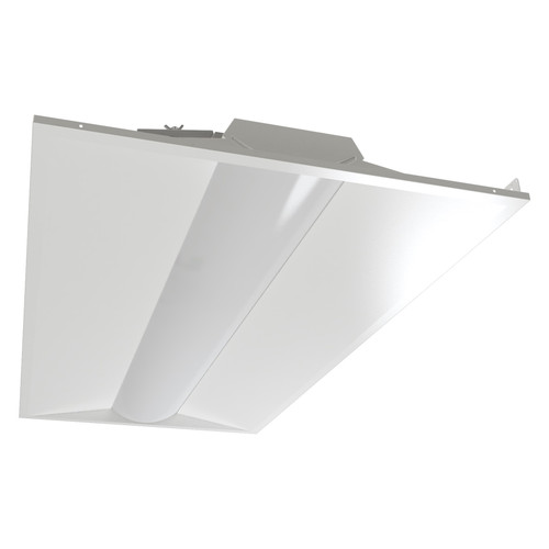 Case of 2 - 2x4ft LED Troffer - 40W - Dimmable