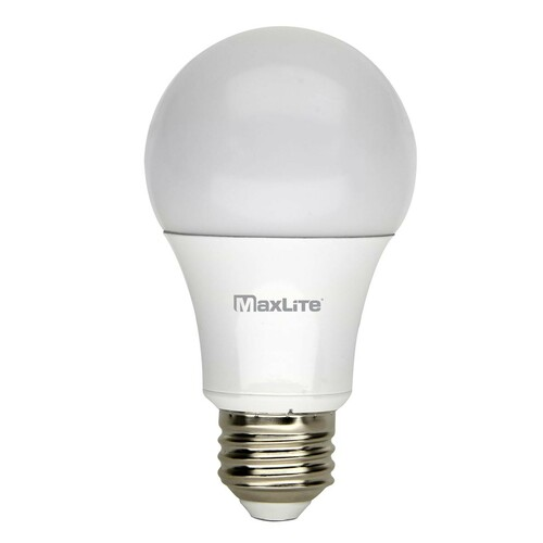 LED A19 - 9W - Enclosed Light Rated - 800 Lumens - Gen 6 Series - MaxLite