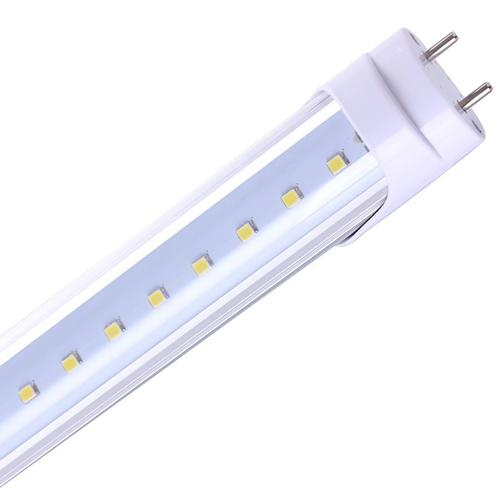 T8 4ft LED Tube (Type A+B) - Ballast Compatible - 18 Watt - 2600 Lumens - Direct Wire - Double Ended Power