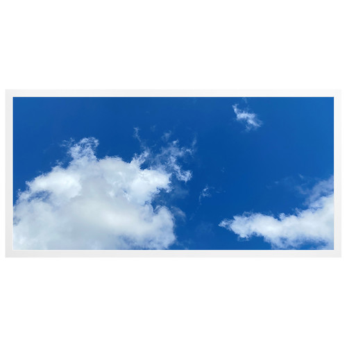 2ft x 4ft LED Flat Panel - 49W - Cloud Design - B3