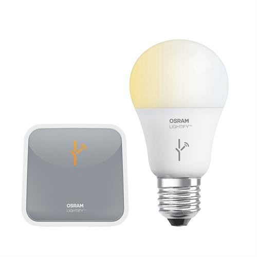 LIGHTIFY® Starter Kit - Tunable White Smart Connected LED A19 Bulb and Wireless Gateway by Sylvania