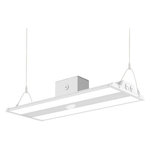 2ft Wattage Selectable LED Linear High Bay with Motion Sensor - 80-100-120-160W - Capetronix