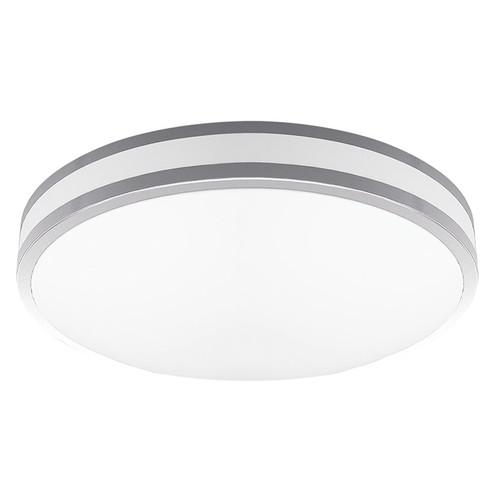 "2-Pack LED 16W 14"" Indoor Ceiling Light - Silver - 1260 Lumens - Euri Lighting"