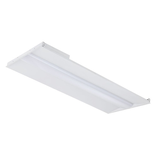 Case of 2 - 2ftx4ft - Wattage Adjustable & Color Tunable LED Troffer - 33-40-50W - Euri Lighting