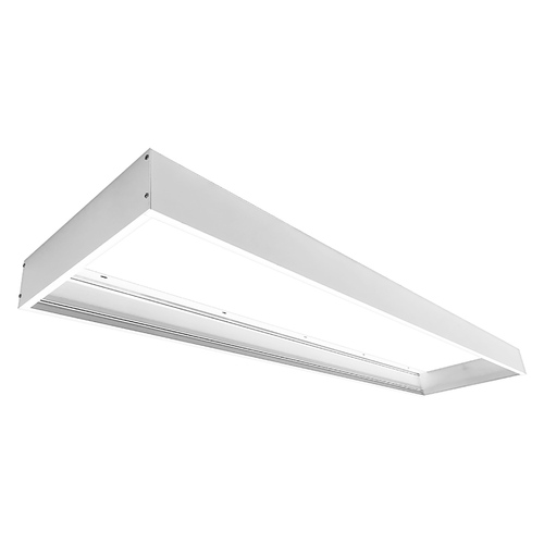 LED 1x4 Flat Panel Surface Mount Kit by Euri Lighting