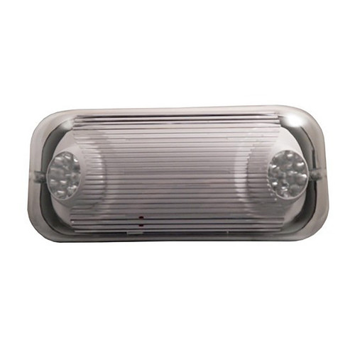 Emergency Light - Wet Location - Fully Adjustable LED Heads - 90 Min. Operation - 120/277V - Morris